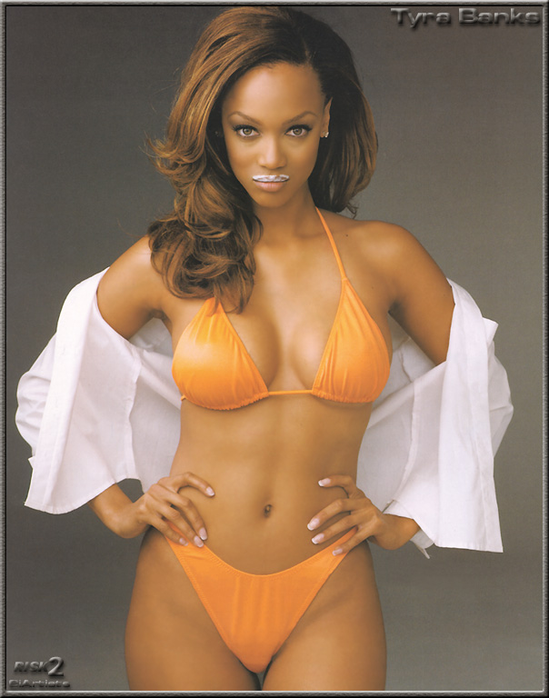 Really. happens. Tyra banks naked young cleared